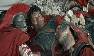 La Mort de Leonidas dans The 300 Spartans