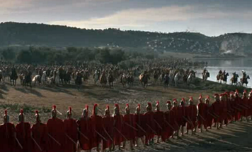 Les Phalanges dans The 300 Spartans
