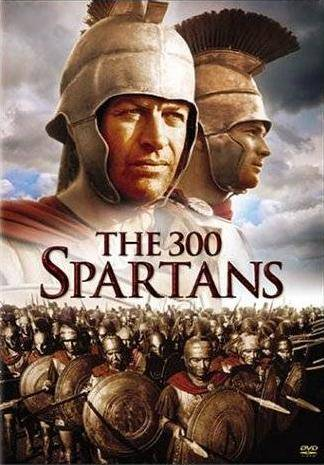 La jaquette originale du film The 300 Spartans